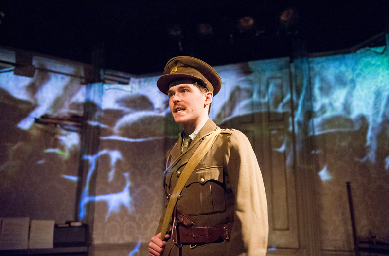 'It is Easy to be Dead' Play by Neil McPherson performed at the Finborough Theatre, London, UK