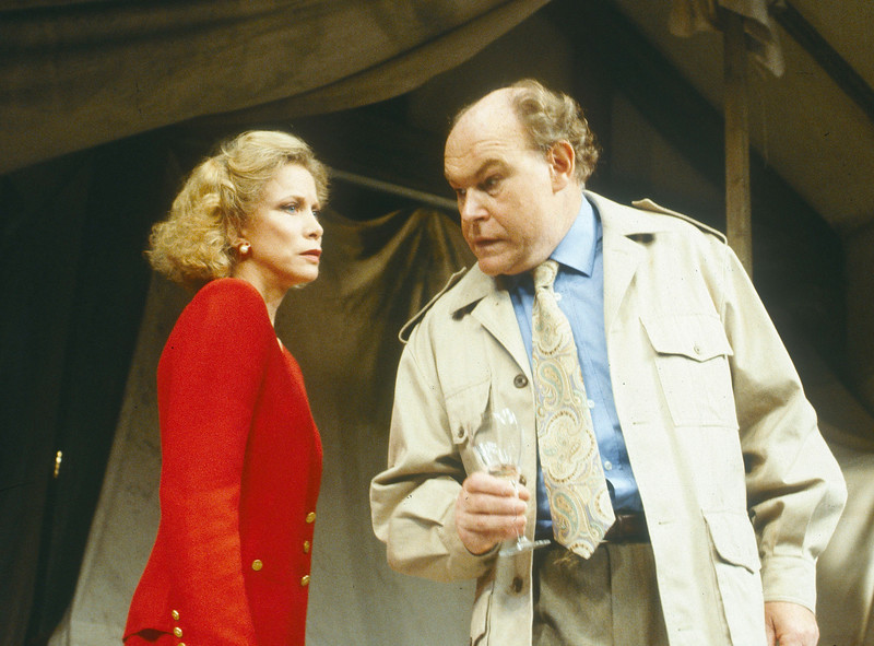 'It's Ralph' Play performed at the Comedy Theatre, London, UK 1991