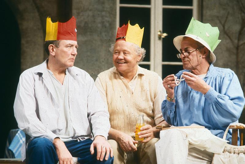 'J.J.Farr' Play performed in the Phoenix Theatre, London, UK 1987