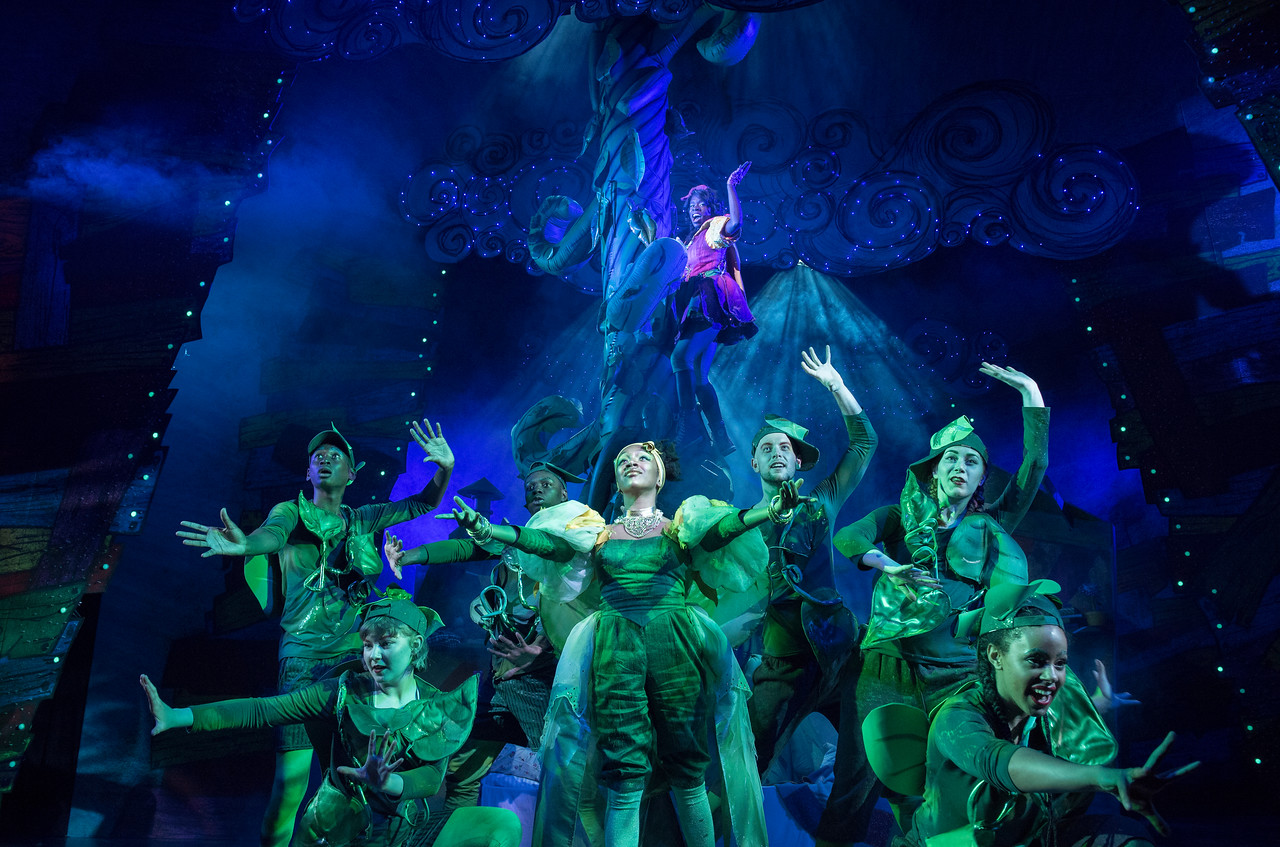 'Jack and the Beanstalk' Pantomime performed at the Lyric Theatre Hammersmith, London, UK