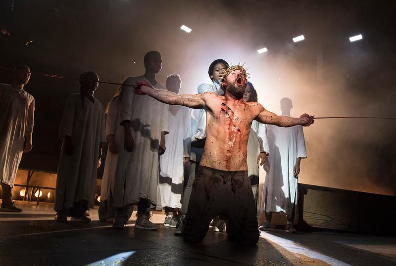 'Jesus Christ Superstar' Musical performed at the Open Air Theatre, Regents Park, London, UK