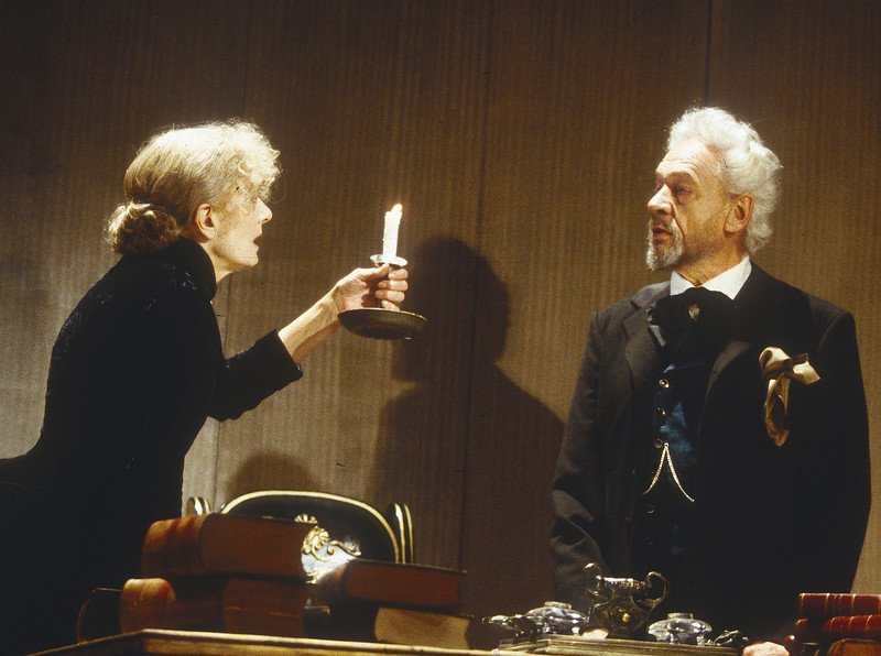 'John Gabriel Borkman' Play performed in the Olivier Theatre, National Theatre, London, UK 1996