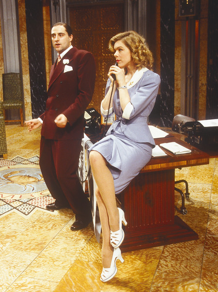 'Johnny on a Spot' Play performed in the Lyttelton Theatre, National Theatre, London, UK 1994