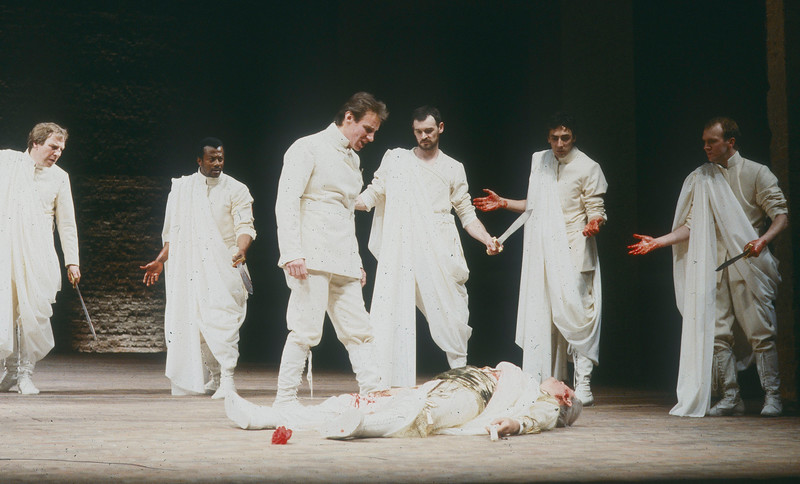 'Julius Caesar' Play performed by the Royal Shakespeare Company, UK 1986