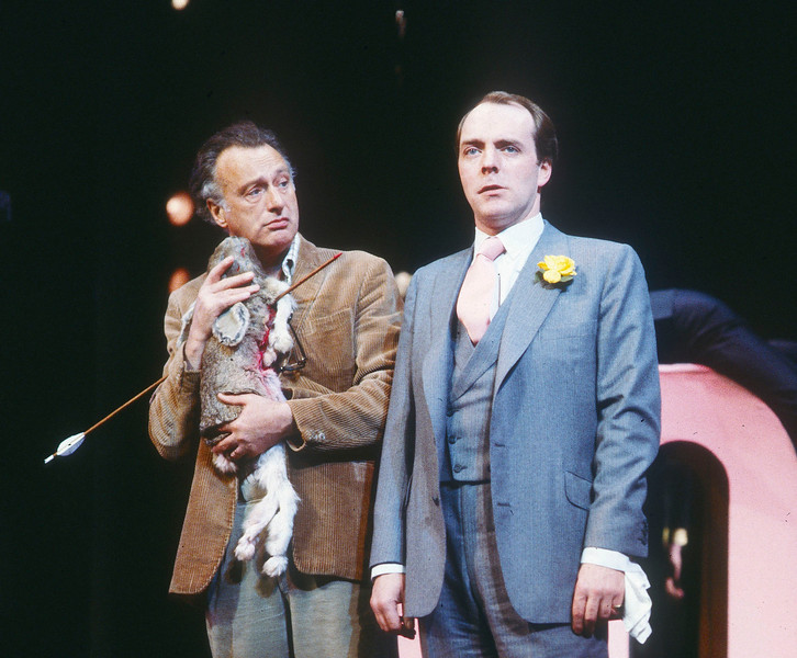 'Jumpers' Play performed at the Aldwych Theatre, London, UK 1985