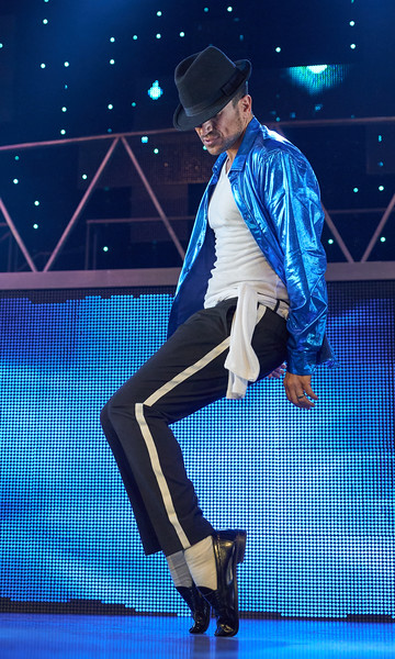 Peter Andre performing in Killer Live at the Lyric Theatre, Shaftsbury Ave, London, UK