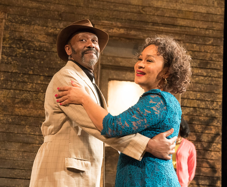 'King Hedley II' Play performed at the Theatre Royal Stratford E15, London, UK