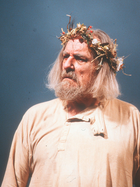 'King Lear' Play performed at the Old Vic Theatre, London, UK 1989