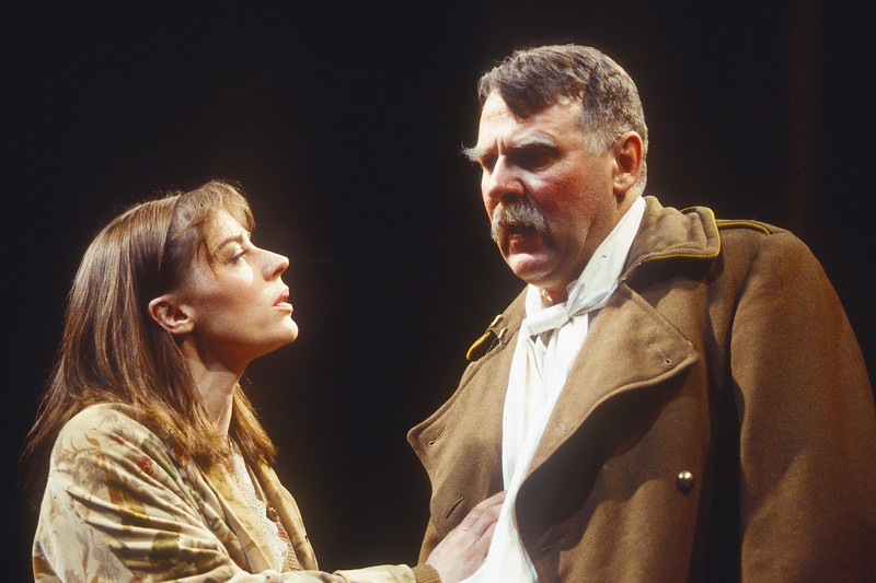 'King Lear' Play performed at the Royal Court Theatre, London, UK 1993