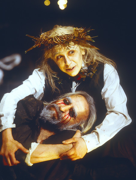 'King Lear' Play performed at the Young Vic Theatre, London, UK 1997