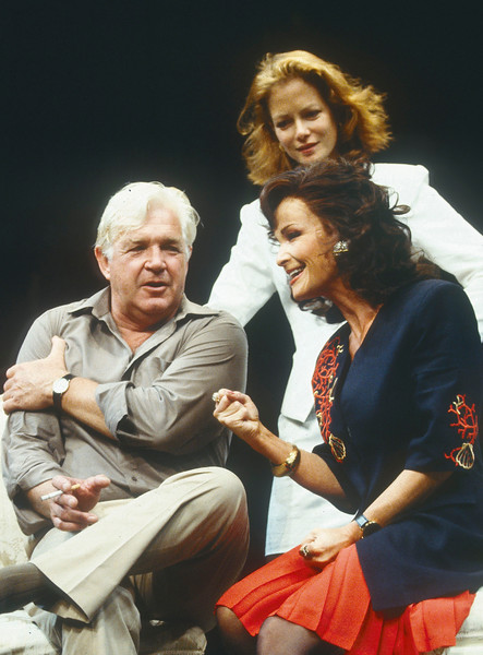 'King Lear in New York' Play performed at the Chichester Festival Theatre, UK, 1991