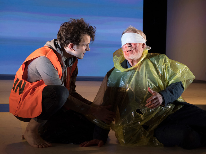'King Lear' Play directed by Deborah Warner performed at the Olad Vic Theatre, London, UK