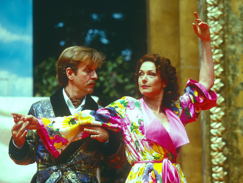 'Kiss Me Kate' Musical performed at the Open Air Theatre, Regent's Park, London, UK 1997