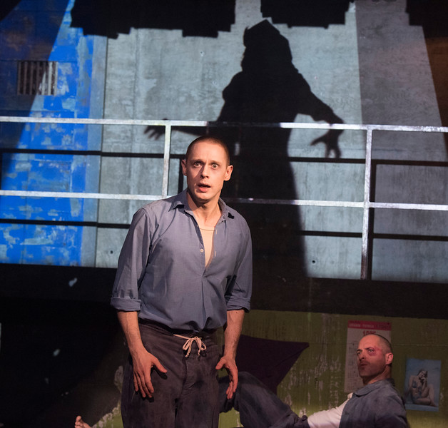 'Kiss of the Spiderwoman' Play performed at the Menier Chocolate Factory, London, UK