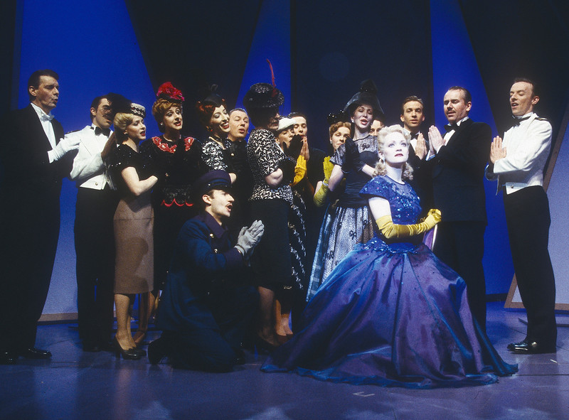 'Lady in the Dark' Play performed in the Lyttelton Theatre, National Theatre, London, UK 1997