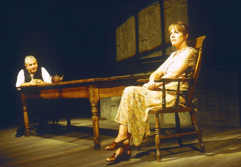 'Landscape' Play performed in the Cottesloe Theatre, National Theatre, London, UK 1995