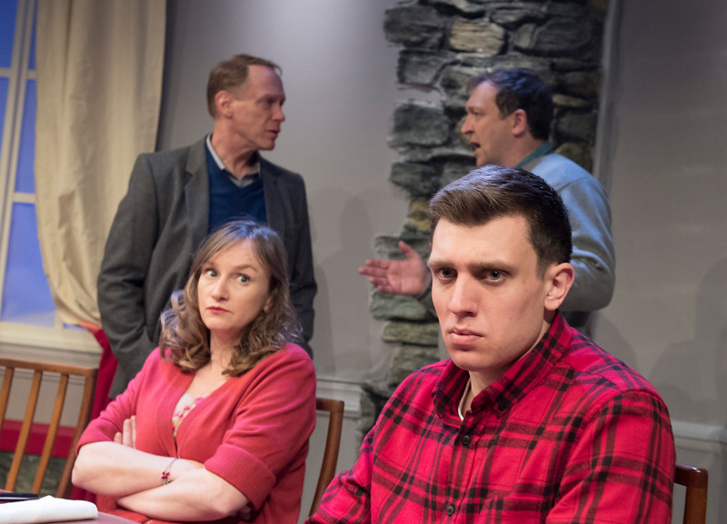 'Late Company' Play by Jordan Tannahill performed at the Finborough Theatre, London, UK