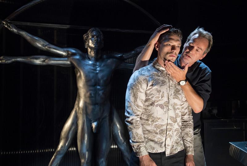 'Le Grand Mort' Play performed in Trafalgar Studios, London, UK