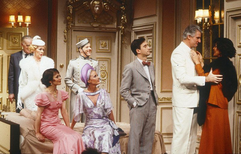'Lend Me A Tenor' Play performed at the Globe Theatre, London, UK 1986