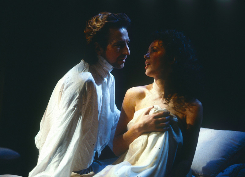 'Les Liaisons Dangereuses' Play performed by the Royal Shakespeare Company UK. 1985