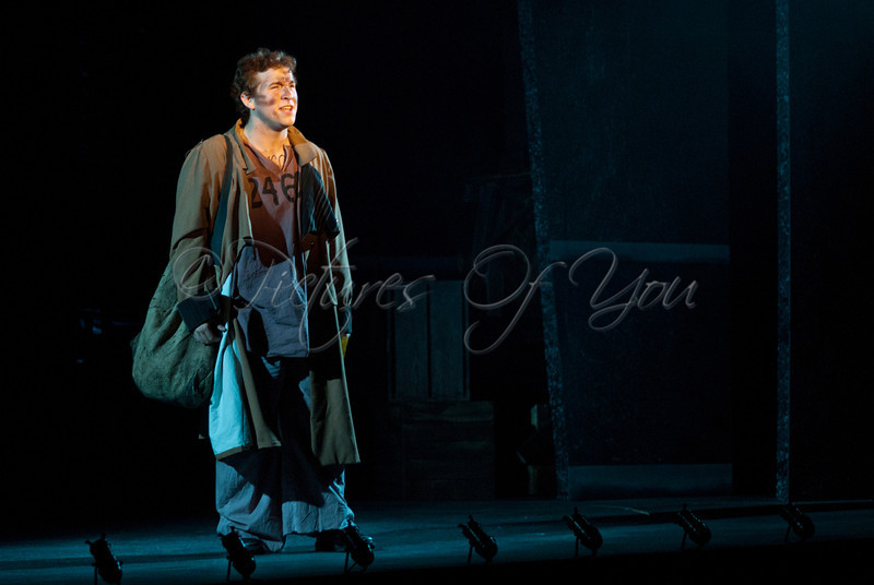 Nick Martiniano plays Jean Valjean