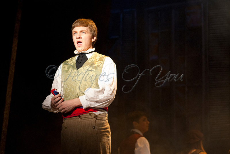 Cody Alvord plays Javert