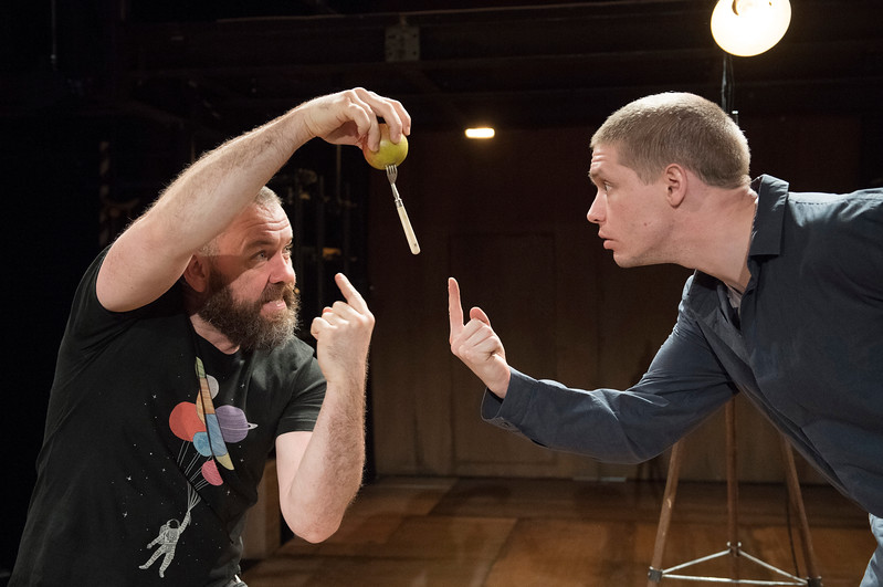 'Life of Galileo' Play performed at the Young Vic Theatre, London, UK