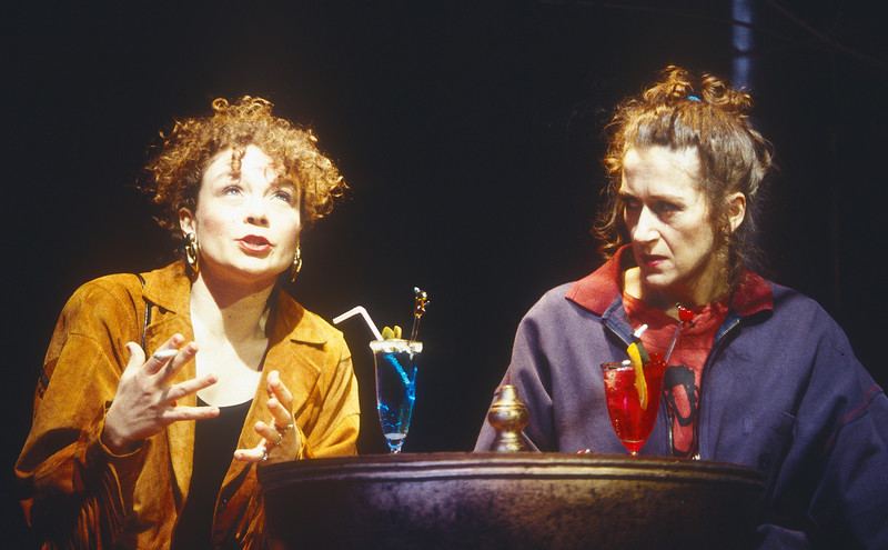 'Lion in the Streets' Play performed at Hampstead Theatre, London, UK 1993