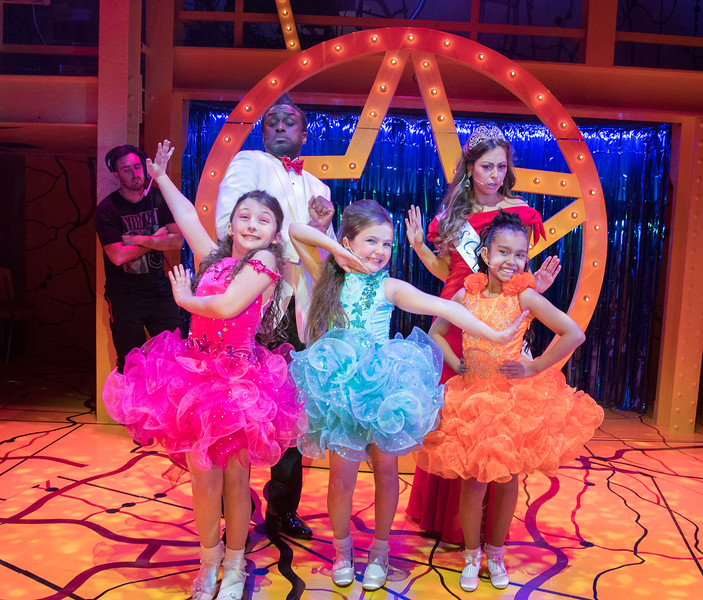 'Little Miss Sunshine' Musical performed at the Arcola Theatre, London, UK