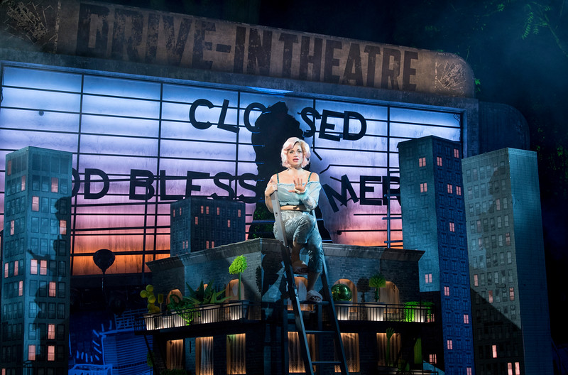 'Little Shop of Horrors' Musical performed at the Open Air Theatre, London, UK