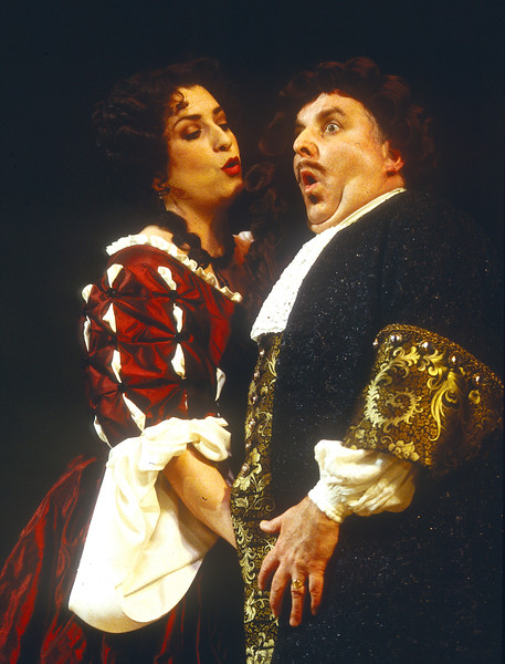 'London Cuckolds' Play performed in the Cottesloe Theatre, London, UK 1998