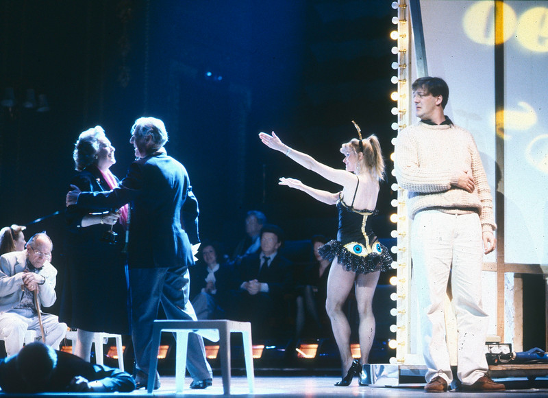 'Look, Look' Play performed at the Aldwych Theatre, London, UK 1990