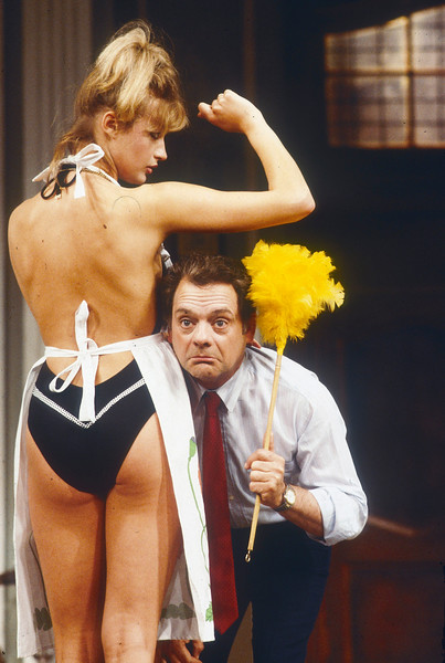 'Look No Hans' Play performed at the Strand Theatre, London, UK 1985