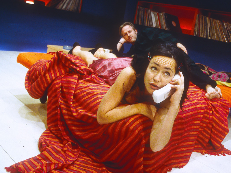 'Love You Too' Play performed at the Bush Theatre, London, UK 1998