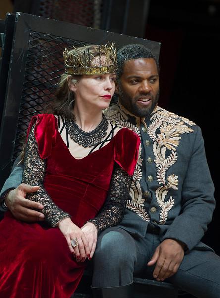 'Macbeth' Play performed at Shakespeares's Globe Theatre, London, UK