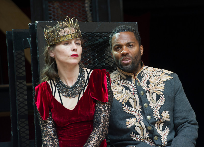 'Macbeth' Play performed at Shakespeares's Globe Theatre, London, UK