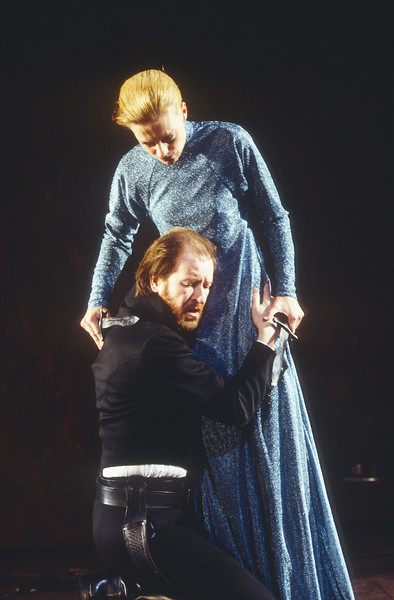'Macbeth' Play performed in the Olivier Theatre, National Theatre, London, UK 1993