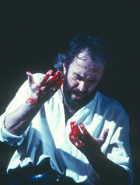 'Macbeth' Play performed by the Royal Shakespeare Company UK 1986