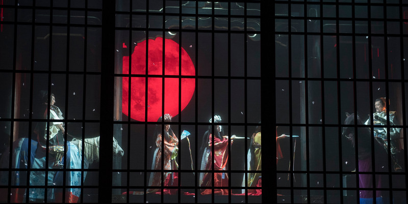 'Macbeth' Play performed by the Ninagawa Company at the Barbican Theatre, London, UK