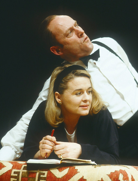 'Map of the Heart' Play performed at the Globe Theatre, London, UK 1991