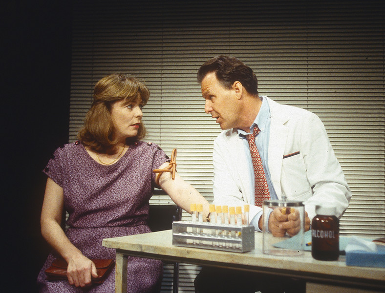 'Marvin's Room' Play performed at Hampstead Theatre, London, UK 1993