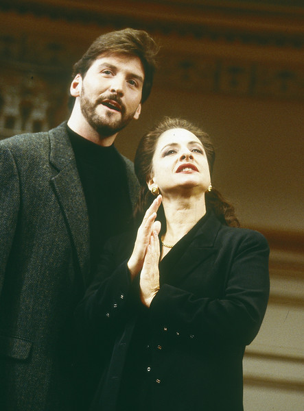 'Masterclass' Play performed in Queen's Theatre, London, UK 1997