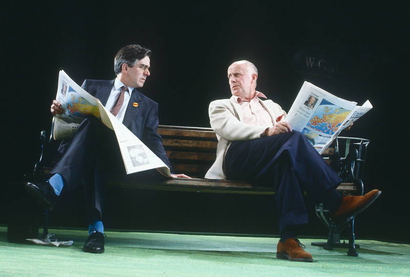 'Maydays' Play performed at the Royal Court Theatre, London, UK 1990