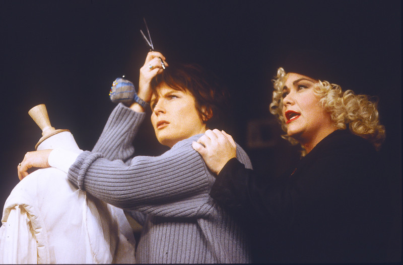 'Me and Mamie O'Rourke' Play performed at the Strand Theatre, London, UK 1993