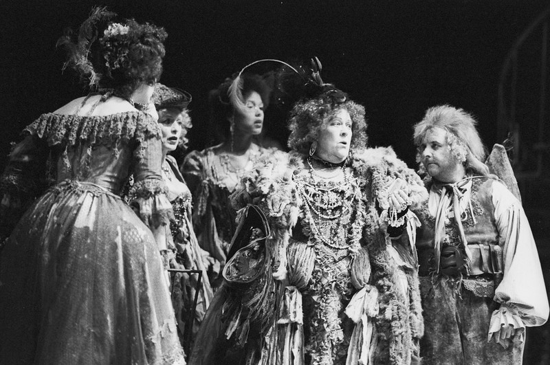 'Measure for Measure' Play performed by the Royal Shakespeare Company, UK 1985