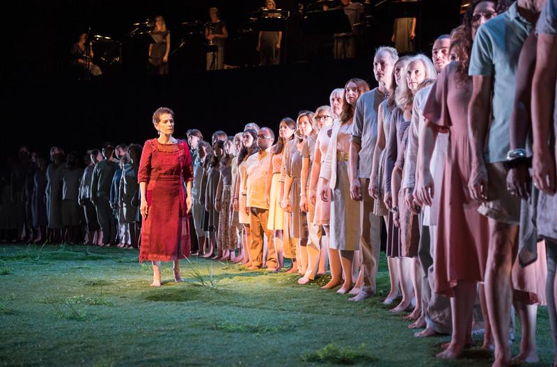 'Memorial' Performance at the Barbican Theatre, London, UK