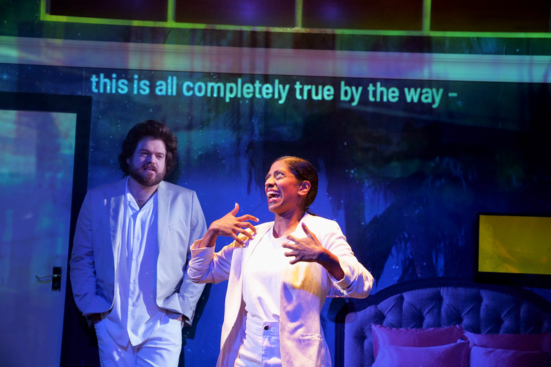 'Midnight Movie' Play performed at the Royal Court Theatre Upstairs, London, UK
