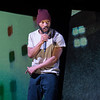 'Misty' Play written and performed by Arinze Kene performed at the Bush Theatre, London, UK