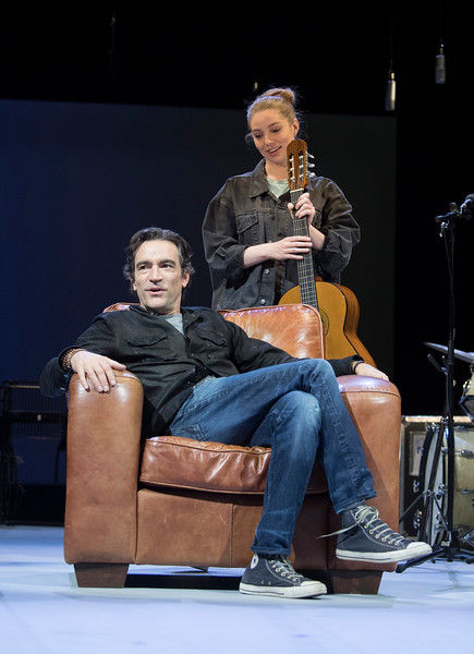 'Mood Music' Play by Joe Penhall performed at the Old Vic Theatre, London, UK