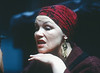 'Mother Courage' Play performed at the Mermaid Theatre, London, UK 1990